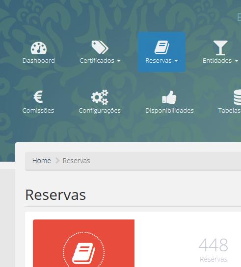 Sistema de gestão de reservas